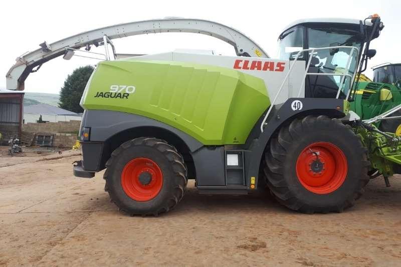 Claas Forage harvesters Claas Jaguar 970 + Orbis 750 Combine harvesters and harvesting equipment