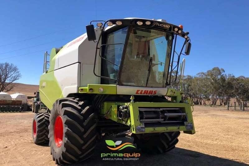 Claas Grain harvesters Claas Tucano 480 Combine harvesters and harvesting equipment