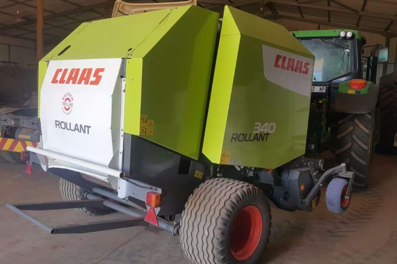 Claas Hay and Forage Balers 340 Rollant 2016