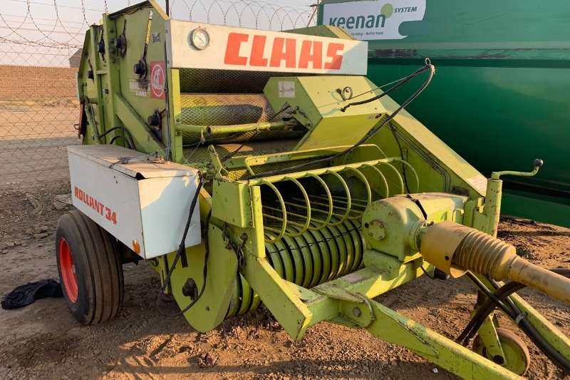 Claas Hay and Forage Balers CLAAS 34BALER
