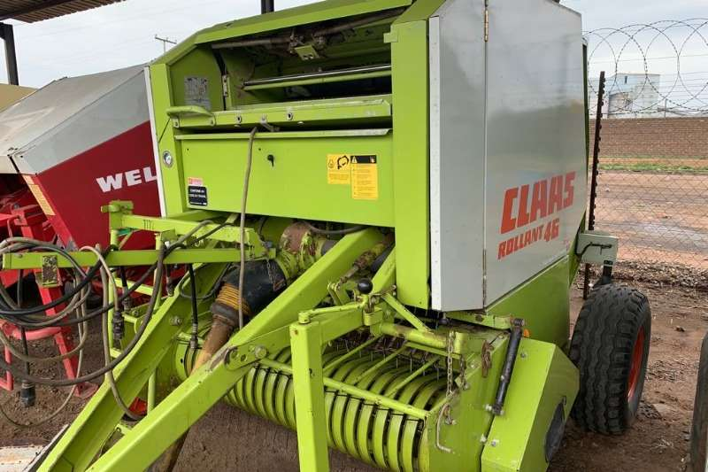 Claas Balers Claas 46 Baler wide pickup twine and net Hay and forage