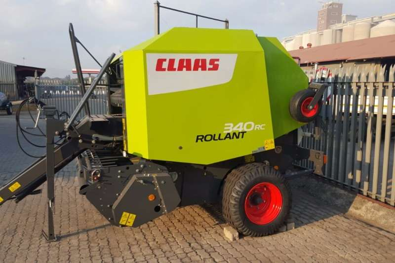 Claas Hay and Forage Balers Rollant 340 RC 2017