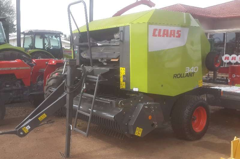 Claas Hay and Forage Balers Rollant 340 RF net & twine 2017