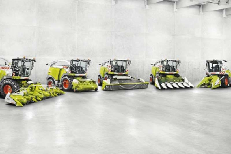 Claas FRONT ATTACHMENTS Hay and forage
