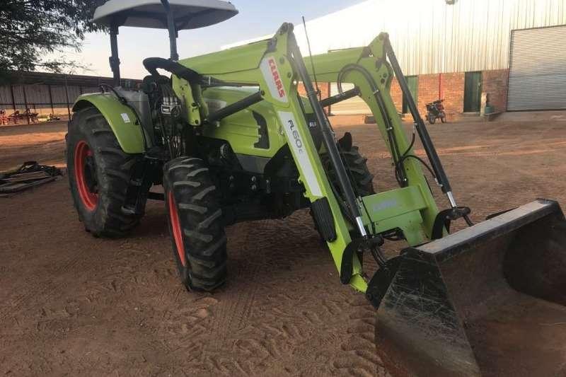 Claas Tractors Four Wheel Drive Tractors Talos 230 + Loader 2016