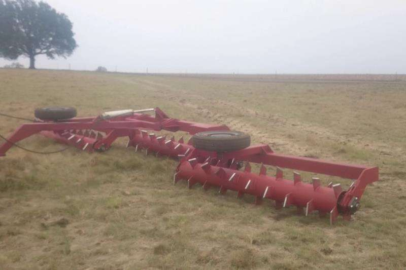 7,5 Plat roller Combine harvesters and harvesting equipment