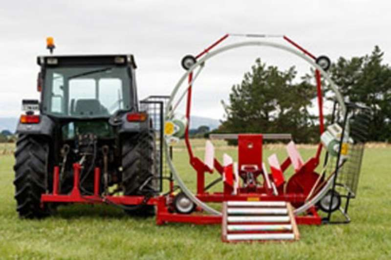 Combine Harvesters and Harvesting Equipment AITCHISON Heliwrapper