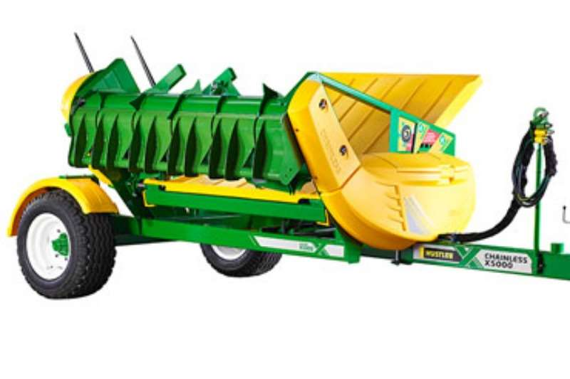 Chainless X5000 Combine harvesters and harvesting equipment