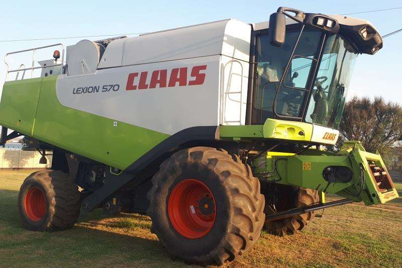 Claas Claas Combine Combine harvesters and harvesting equipment