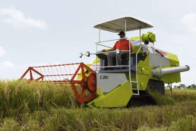 Claas CROP TIGER 40 TT Combine harvesters and harvesting equipment