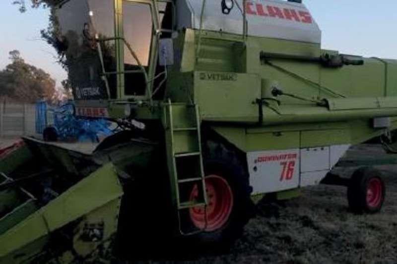 Claas Dominator 76 Combine harvesters and harvesting equipment