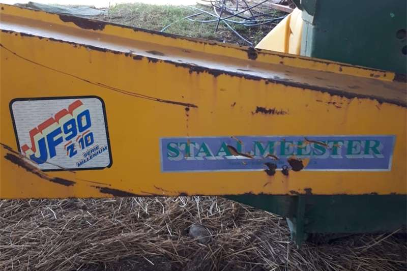 Forage harvesters JF90 Single row Harvester Combine harvesters and harvesting equipment