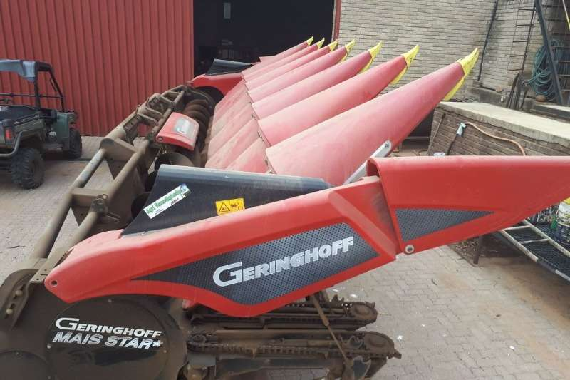 Combine Harvesters and Harvesting Equipment Geringhoff Maize Heads Geringhoff 8 row 2015