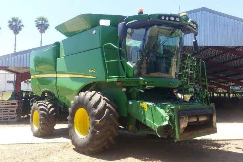 Combine Harvesters and Harvesting Equipment John Deere Forage Harvesters S660 Harvester 2013