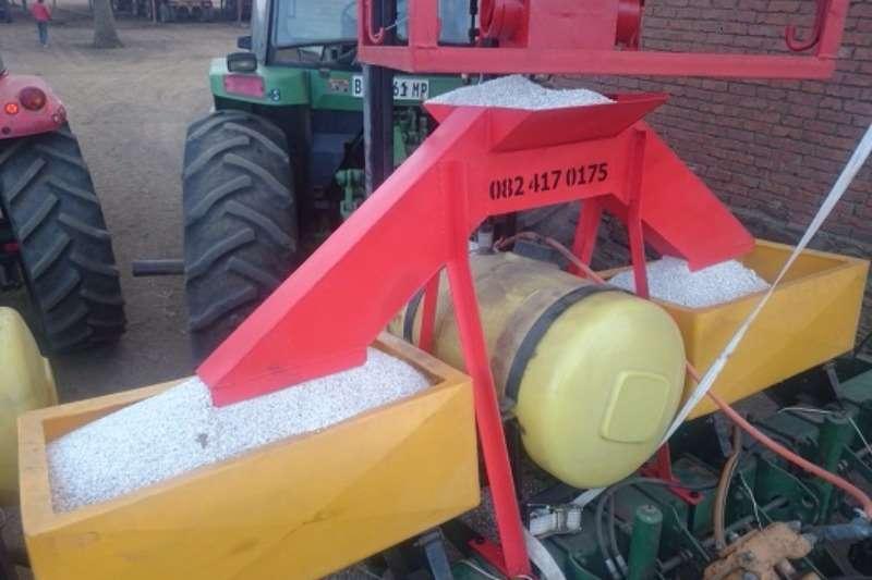 Myburgh Toerusting Massabak planter verdeler Combine harvesters and harvesting equipment