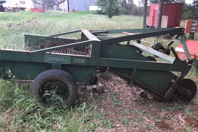 Potato harvesters Dormas D1800 potato harvester Combine harvesters and harvesting equipment