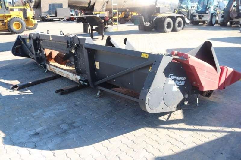 Combines & Harvesters Geringhoff MS600 6 Row Harvester 2012