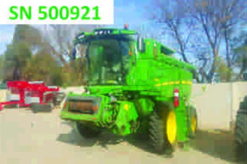 Combines & Harvesters John Deere S660 2012