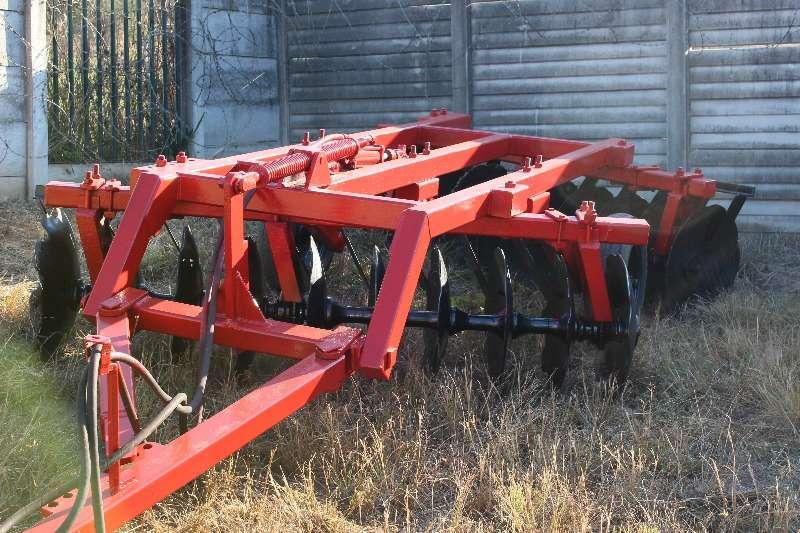 Cultivators 10x10 hydraulic dis