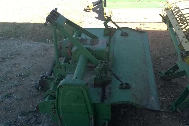 Cultivators Rotary Cultivators Howard Rotovator and harrow with finerough seed pl