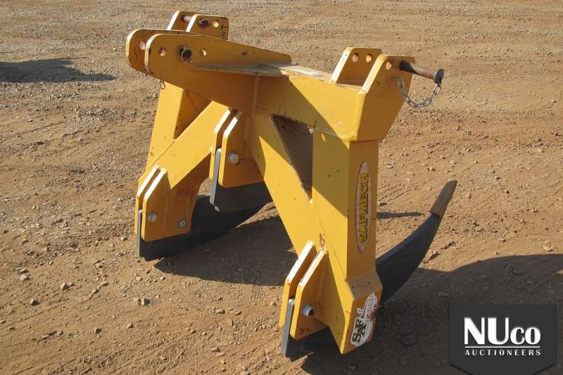 SAFMECH 3 TINE HD RIPPER 5X AVAILABLE Cultivators