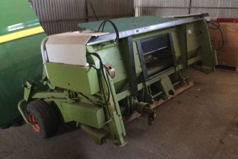 Claas 3m Grass Header Cutters and shredders