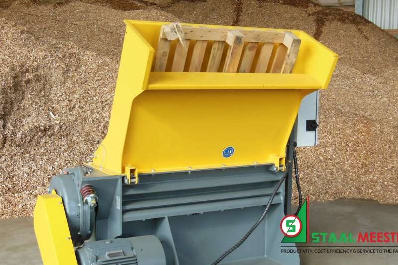 Cutters and Shredders Other Cutters and Shredders Heizohack Pallet Shredder 0