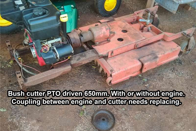 Cutters and Shredders Slashers Slasher PTO driven 650mm. 6.5hp Electric Start B&S