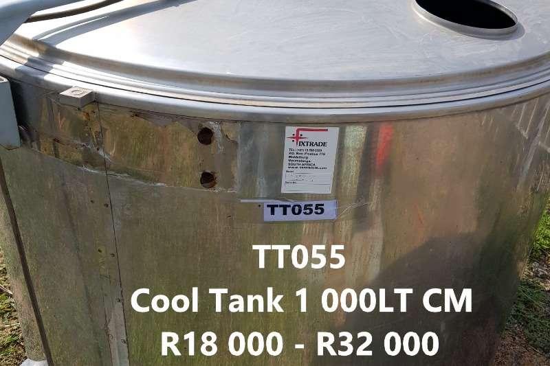 Holding tanks Cooling Tanks 1000 LT   5000 LT Dairy farming