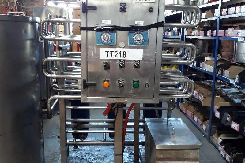 Pasteurizers 1000L Inline Pasteurizer Dairy farming