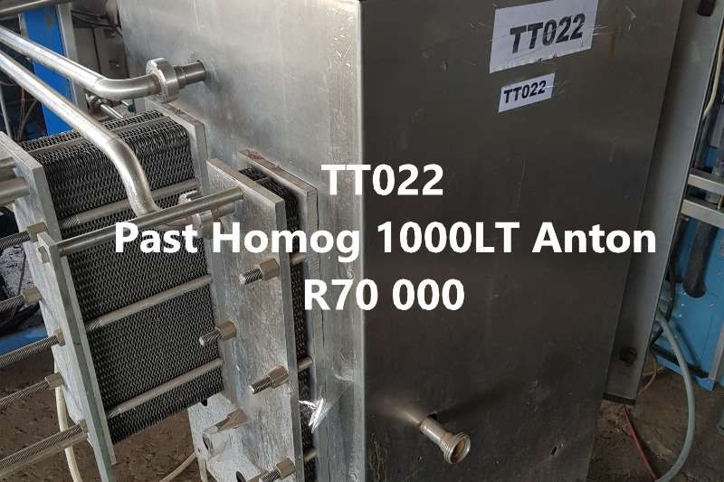 Pasteurizers Inline Pasteurizers Homogenizer Dairy farming