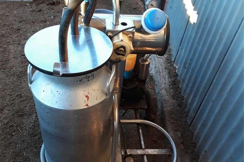 Sterilisation - dairy Mobiele melkmasjien Dairy farming