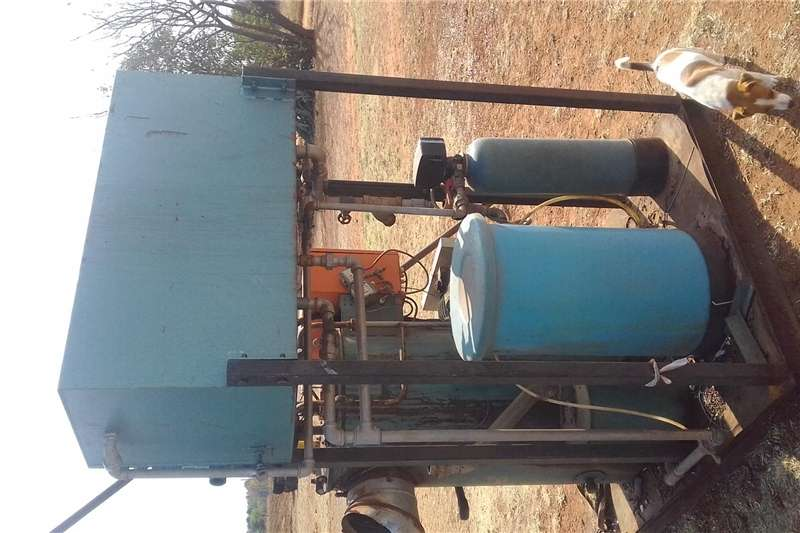 Sterilisation - dairy steamboiler Dairy farming
