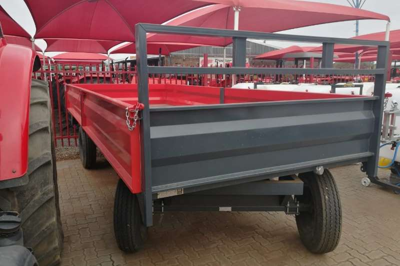 Dicla 6 Ton Drop side Trailer Agricultural trailers