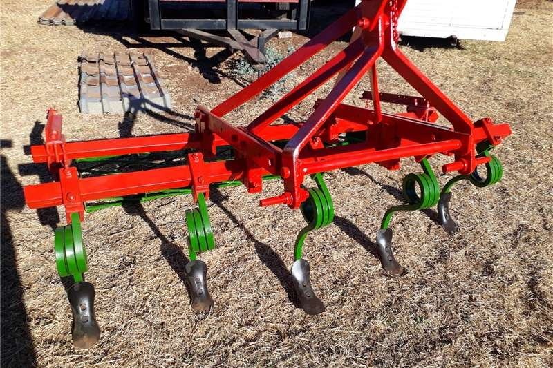 seedbed maker 5 furrow and roller Digger