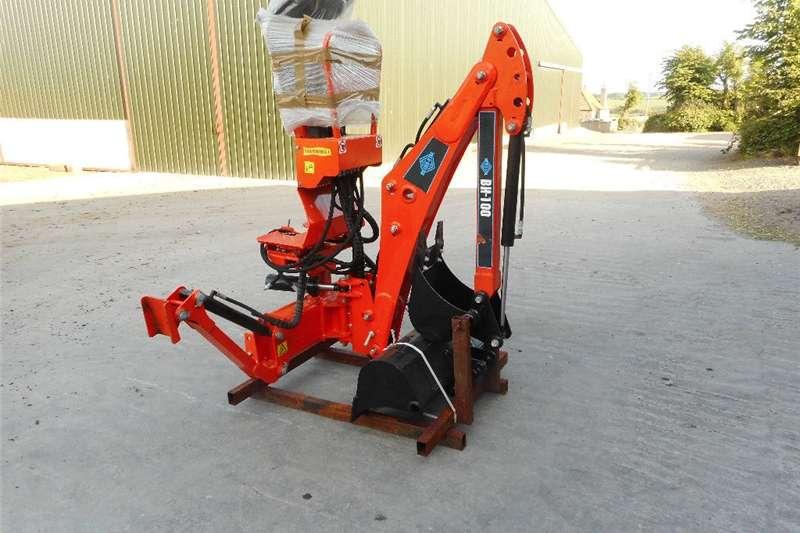 Digger Tractor / Backhoe