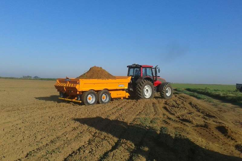 New Chieftain 12 Ton Dump Trailer Dumper