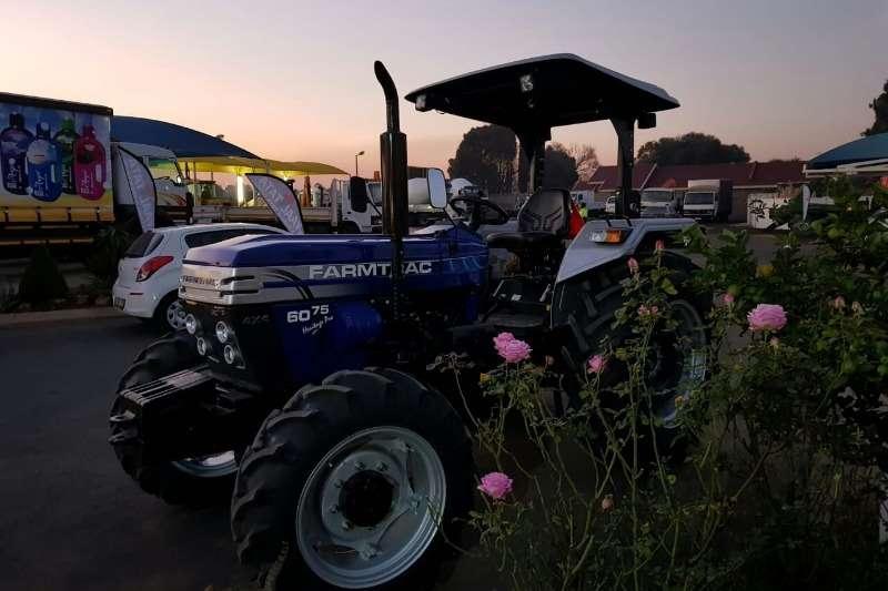 Farm Four wheel drive tractors Farmtrac FT 6075 PRO Tractors