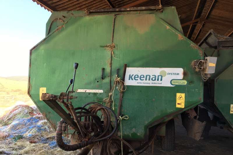 Feed Mixers Keenan Bail Handler / Feed Mixer 2008