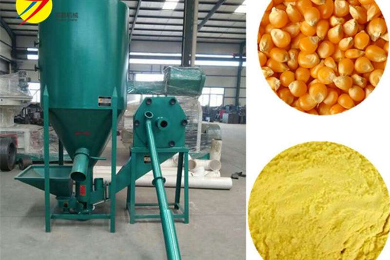 Feed Mixers Vertical Feed Mixers Feed Mixer with hammer mill 500 kg per hour for sa