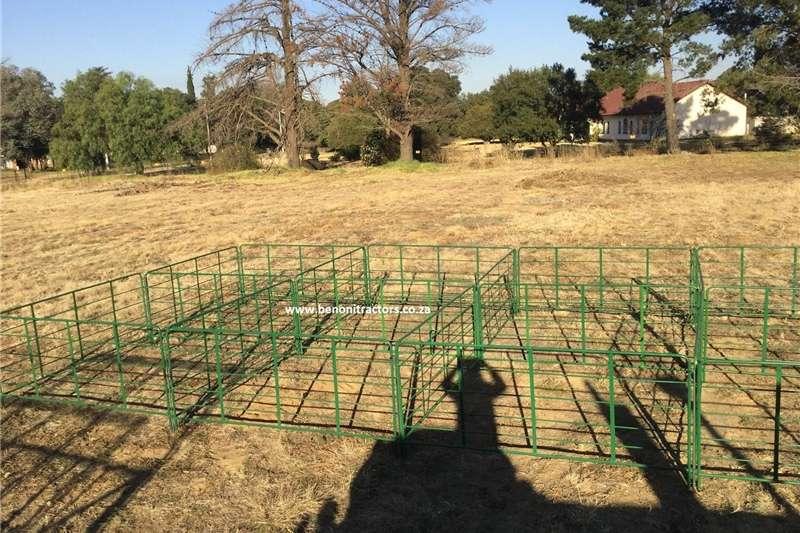 Skaap Kampe Sheep Camps Feed wagons