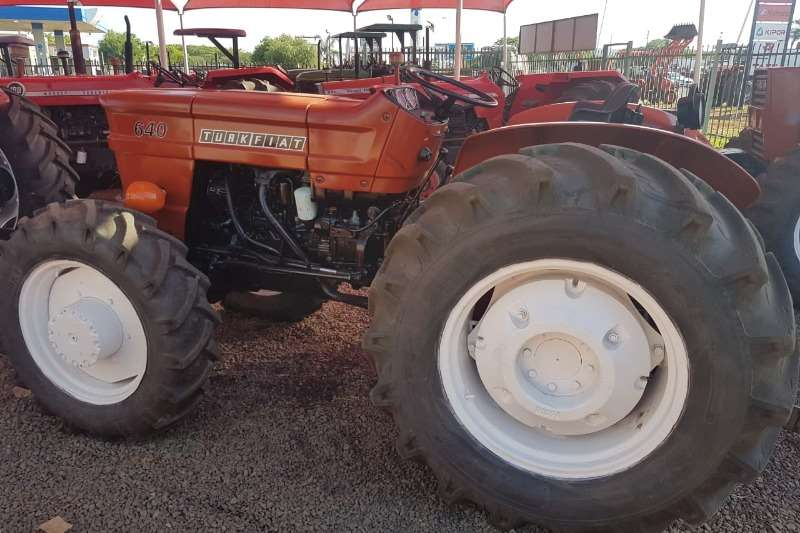 Fiat Tractors Two Wheel Drive Tractors 640 Fully Refurbished (974)
