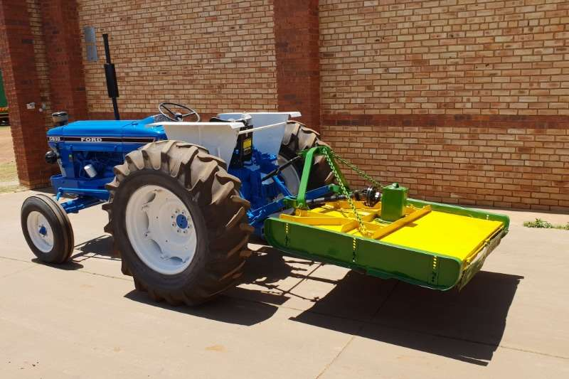Ford Tractors 5610,4x2,WITH FALCON 50/150 SLASHER 2010