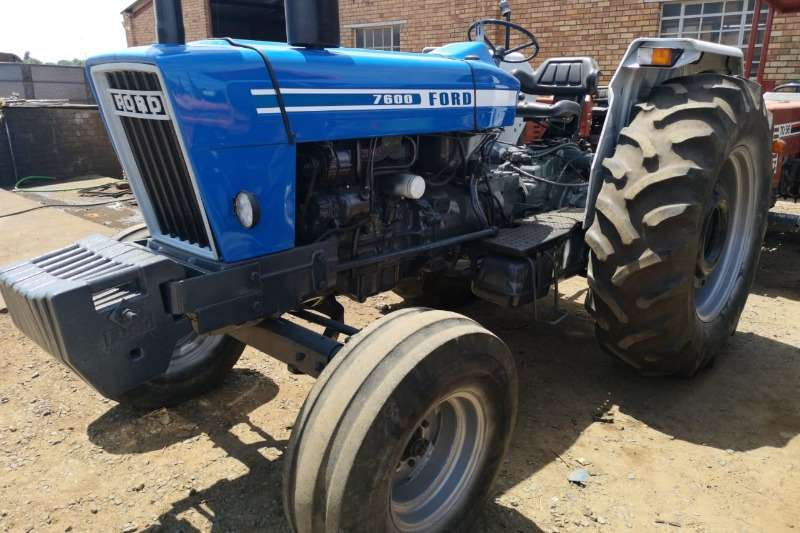 Ford Tractors 7600 96.7HP 72.1KW
