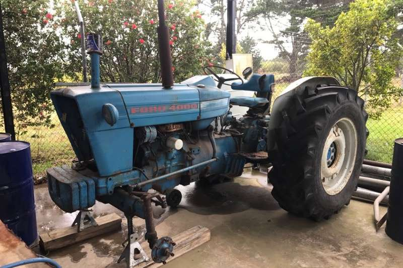 Ford Tractors Ford 4000