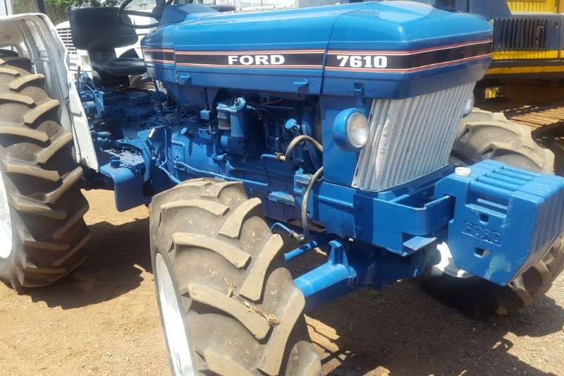 Ford FORD 7610 4X4 TRACTOR Tractors
