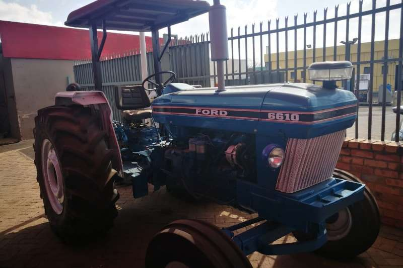 Ford Tractors Two Wheel Drive Tractors 6610 Fully Refurbished (791)