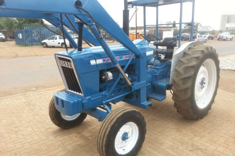 Ford Two wheel drive tractors FORD 5000 Tractors