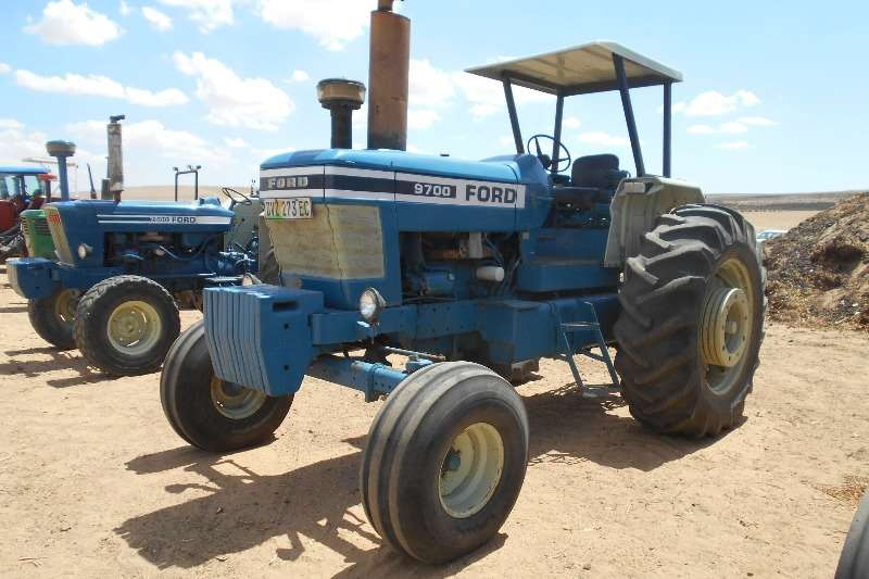 Ford Tractors Two Wheel Drive Tractors FORD 9700