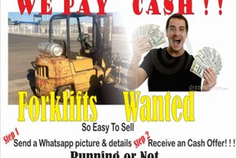 Forklifts Wanted Forklift